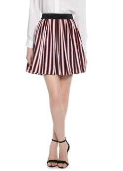 Mango Outlet - Stripe Skater Skirt