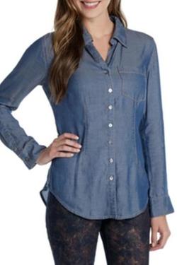 Color - Drapey Denim Shirt