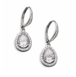 Adriana Orsini  - Framed Teardrop Earrings