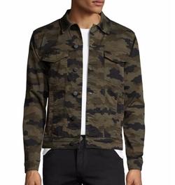 J Brand - Gorn Trucker Camouflage Jacket