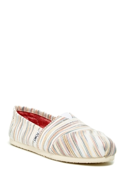 Toms - Classic Striped Slip-On