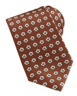 Isaia - Floral-Neat 7-Fold Tie