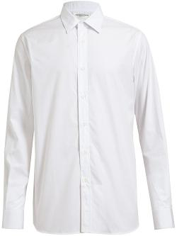 Saint Laurent  - Slim Fit Paris Poplin Shirt
