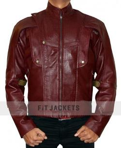 Synthetic Leather - Chris Pratt Guardians of the Galaxy Jacket