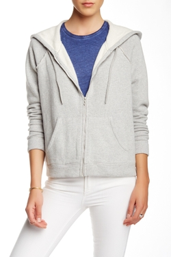 Majestic - Cozy Cotton Zip Hoodie Jacket