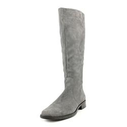 Calvin Klein - Taylie Round Toe Suede Knee High Boot