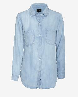 RAILS - EXCLUSIVE ANTIQUE WASH DENIM SHIRT