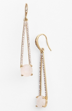 Lauren Ralph Lauren  - Pavé Drop Earrings