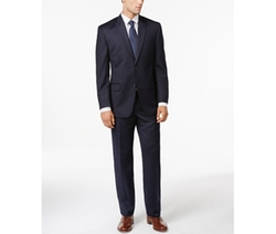 Michael Michael Kors  - Striped Flannel Peak-Lapel Suit
