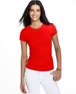 Tommy Hilfiger  - Short-Sleeve Crew-Neck Tee