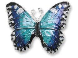 Zarah - Blue Morpho Pin
