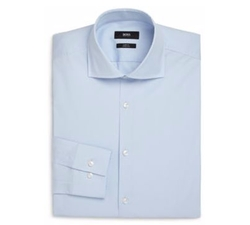 Hugo Boss - Slim-Fit Solid Dress Shirt