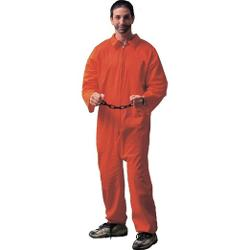 Forum Novelties  - Jail Bird Convict Adult Costume