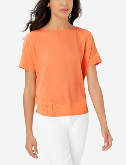 The Limited - Slouchy Woven Front Top