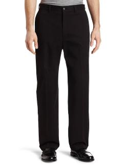 Haggar  - Mens Mitchell Khaki Twill Plain Front Pant