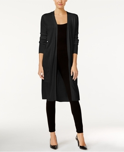 Joseph A - Open-Front Duster Cardigan