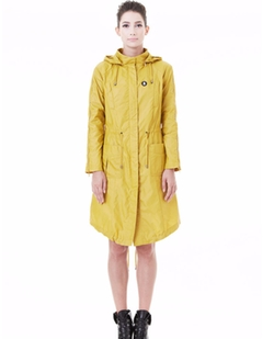 Snowman  - March Mustard Hooded Utility Trench