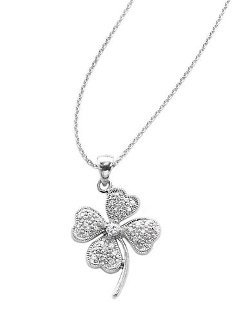 UnwrittenLord & Taylor - Clover Pendant Necklace