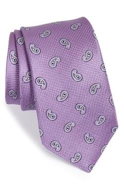 Nordstrom  - Paisley Silk Tie