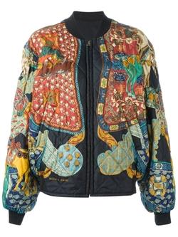 Hermès Vintage   - Reversible Bomber Jacket