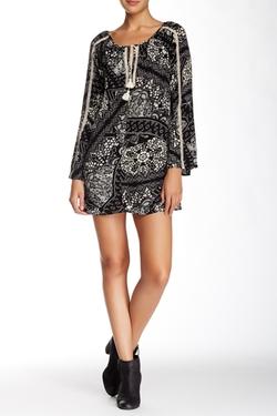 Love Stitch - Long Sleeve Tunic Dress
