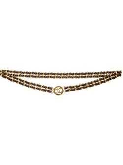 Chanel Vintage - Double Chain Disc Belt