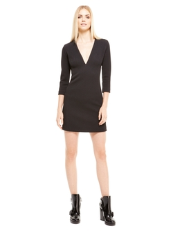 DKNY - Low V-Neck Dress