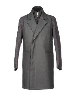 Emporio Armani - Flannel Lapel Collar Coat