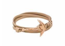 Miansai - X Revolve Leather Anchor Bracelet