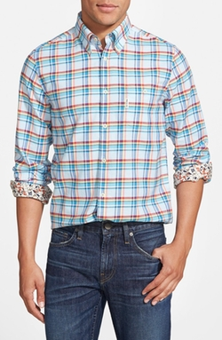Ben Sherman - Multi Check Mod Fit Oxford Woven Shirt
