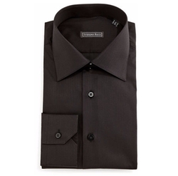 Stefano Ricci - Solid Button-Down Dress Shirt