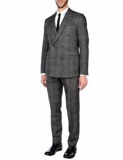 Boglioli - Flannel Double-Breasted Suit