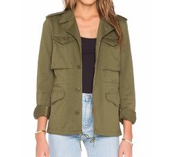 Nlst - Skinny Military Jacket