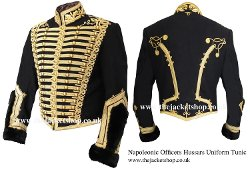 The Jacket Shop - Officers Napoleonic Hussars Uniform Military Tunic