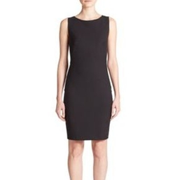 Theory - Betty Edition Stretch Wool Sleeveless Dress