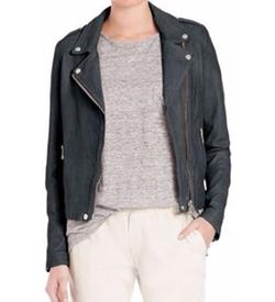 Set - The Tyler Leather Moto Jacket