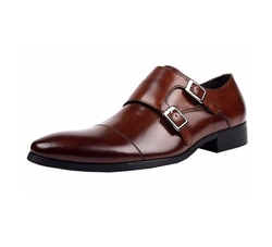 Wuf - Double Monk Strap Dress Shoes