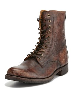Frye	  - Rand Stonewash Lace-Up Boot