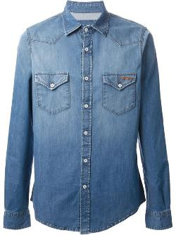 Roy Roger´s -  Rugged Button Down Denim Shirt