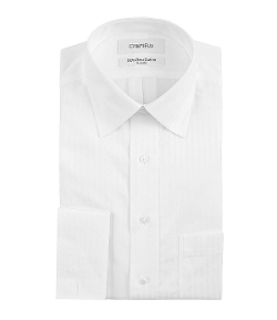 Cremieux - Regular-Fit Spread-Collar French Cuff Dress Shirt