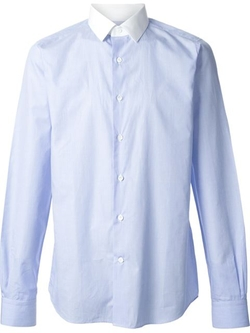 Valentino - Contrast Collar Shirt