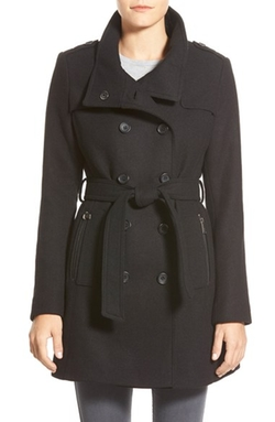 DKNY - Wool Blend Trench Coat