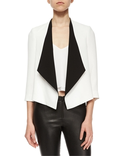 Alice + Olivia	 - Oliver Draped Jacket,