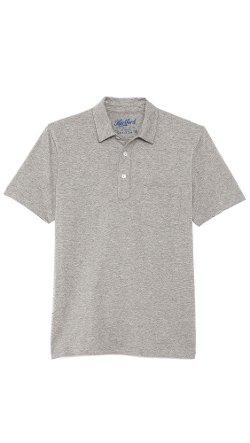 Hartford - Slub Jersey Short Sleeve Polo