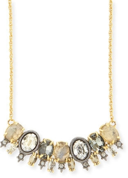Alexis Bittar - Elements Spiked Crystal Pendant Necklace