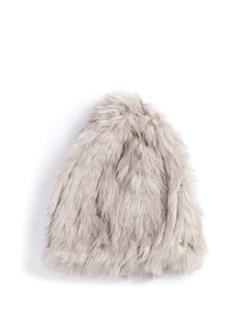 Yves Salomon  - Rabbit Fur Beanie