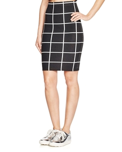 Benjamin Jay - Kimberly Windowpane Skirt