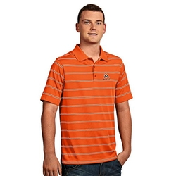 Antigua  - Miami Marlins Striped Performance Polo Shirt