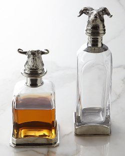 Arte Italica  - Animale Bull Decanter