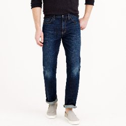 J. Crew - Dark Worn Wash Bootcut Jeans